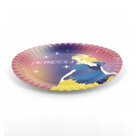 Paper Plate Princess Design 23cm (8 Units)