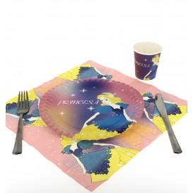 Paper Plate Princess Design 23cm (504 Units)