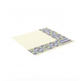 Paper Napkin Stripes and Moles Design 33x33cm (20 Units)