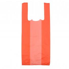 Plastic T-Shirt Bag Red 35x50cm (200 Units)