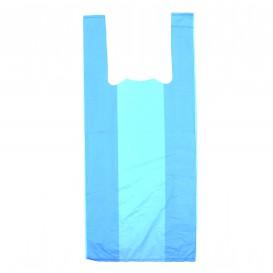 Plastic T-Shirt Bag Blue 35x50cm (5000 Units)
