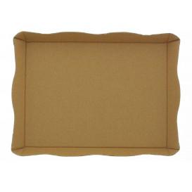 Cardboard Tray Fast Food Kraft (10 Units)
