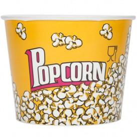 Paper Popcorn Box 5400ml 22,5x16x21cm (50 Units)