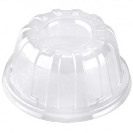 Plastic Dome Lid Clear 11x6cm (100 Units)