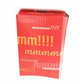 Paper French Fries Scoop Container Closed (25 Units)