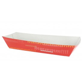 Paper Hot Dog Tray 17,0x5,5x3,8cm (25 Units)