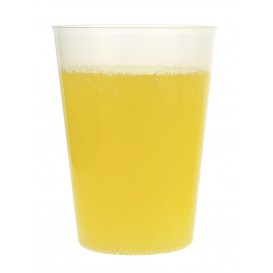 Plastic Cup PP Hard Clear 480 ml (25 Units)