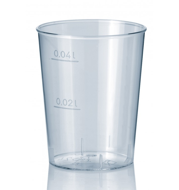 Plastic Shot PS Injection Moulding Clear 40 ml (2000 Units)