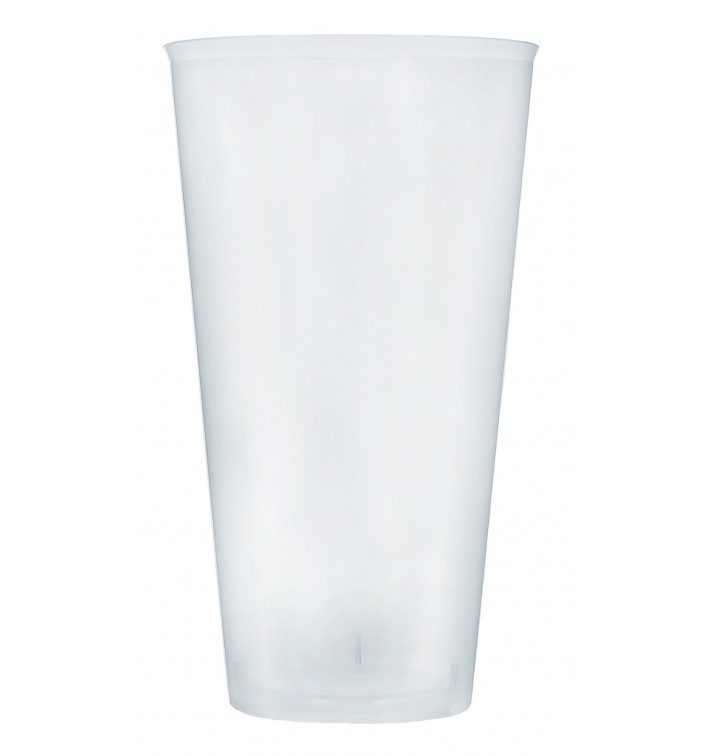 Plastic Cup PP Cocktail Clear 470 ml (20 Units)