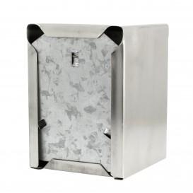 """Napkin Stainless Steel Dispenser """"MiniServis"""" 17x17 (12 Units)"""