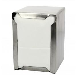 """Napkin Stainless Steel Dispenser """"Miniservis"""" 17x17 (1 Unit)"""