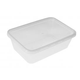 Plastic Deli Container PP Rectangular Shape 750 ml (500 Units)