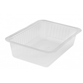 Plastic Deli Container PP Heat Sealable 1000ml (600 Units)