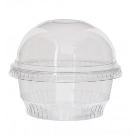 Plastic Container PET Crystal Solo® 5Oz/150ml Ø9,2cm (50 Units)
