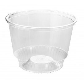 Plastic Container PET Crystal Solo® 8Oz/240ml Ø9,2cm (50 Units)