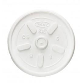 Plastic Lid PS Ø8,1cm for Foam Cup (1000 Units)