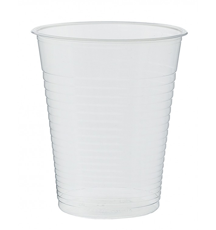 Plastic Cup PP Clear 200 ml (100 Units)