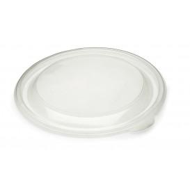 Plastic Lid PP Rigid Clear Ø19cm (50 Units)