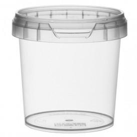 Plastic Deli Container with Plastic Lid PP Tamper-Evident 155 ml Ø6,9 (960 Units)