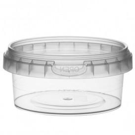 Plastic Deli Container with Plastic Lid PP Tamper-Evident 180 ml Ø9,5 (504 Units)