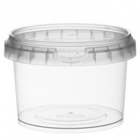 Plastic Deli Container with Plastic Lid PP Tamper-Evident 280 ml Ø9,5 (475 Units)