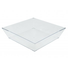 Plastic Tray Clear 25x25cm (1 Unit)