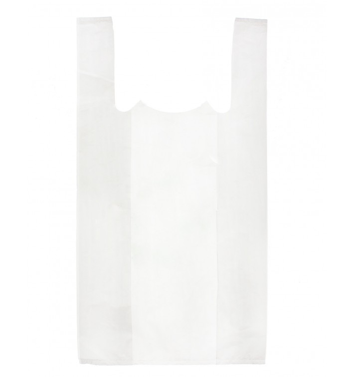 Plastic T-Shirt Bag White 35x50cm (5000 Units)