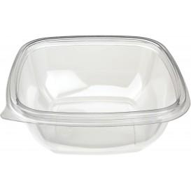 Plastic Bowl PET Square Shape 250ml 125x125x40mm (50 Units)