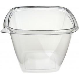 Plastic Bowl PET Square Shape 750ml 125x125x90mm (50 Units)