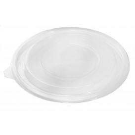 Plastic Lid for Bowl PET Flat Ø18cm (60 Units)