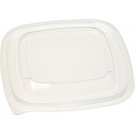 Plastic Lid PET for Plastic Bowl 125x125mm (500 Units)