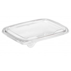 Plastic Lid for Deli Container PET Flat 18x14cm (65 Units)