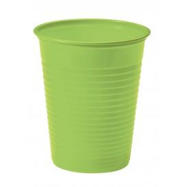 Plastic Cup PS Lime Green 200ml Ø7cm (1500 Units)