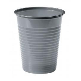 Plastic Cup PS Silver 200ml Ø7cm (1500 Units)