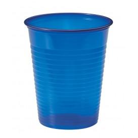 Plastic Cup PS Dark Blue 200ml Ø7cm (1500 Units)
