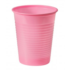 Plastic Cup PS Pink 200ml Ø7cm (50 Units)