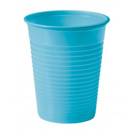 Plastic Cup PS Turquoise 200ml Ø7cm (1500 Units)