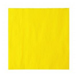 Paper Napkin 2 Layers Yellow 33x33cm (1200 Units)