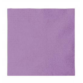 Paper Napkin 2 Layers Lilac 33x33cm (50 Units)