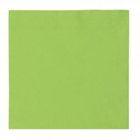 Paper Napkin 2 Layers Green Lime 33x33cm (1200 Units)