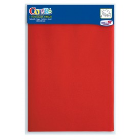 Paper Tablecloth Red 1,2x1,8m (24 Units)
