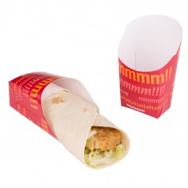 Paper Wrap Food Container 60x50x12cm (25 Units)