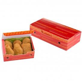 Paper Take-Out Box Large size 2,00x1,00x0,50cm (25 Units)