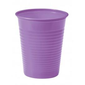Plastic Cup PS Lilac 200ml Ø7cm (50 Units)
