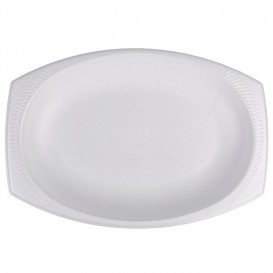 "Foam Tray ""Concorde"" White 28X22cm (125 Units)"