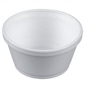Foam Container White 8Oz/240ml Ø11cm (50 Units)