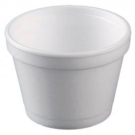 Foam Container White 12 Oz/355ml Ø11cm (25 Units)