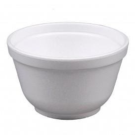 Foam Container White 6Oz/180ml Ø8,9cm (50 Units)