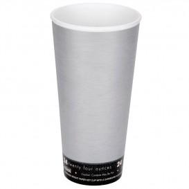 "Foam Cup Fusion ""Steele"" 24Oz/710ml Ø9,4cm (20 Units)"