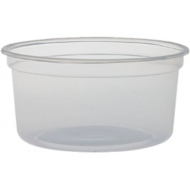 "Plastic Deli Container PP ""Deli"" 12Oz/355ml Ø12cm (500 Units)"